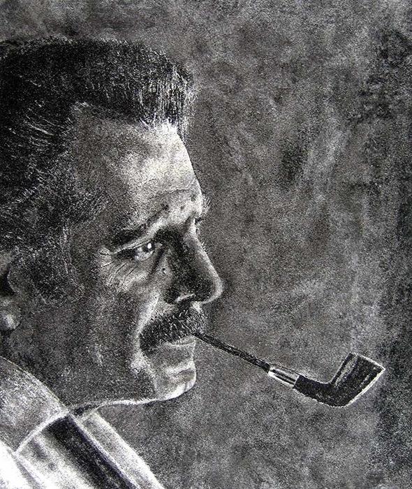 Georges Brassens par CadranDavid